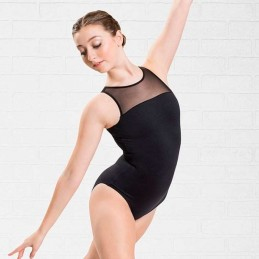 Leotards with thick straps