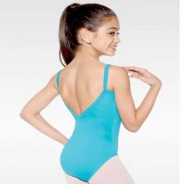 Children's thin strap leotard