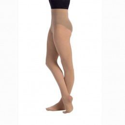 Ballet tights with child foot