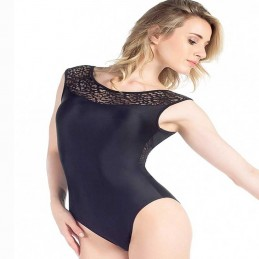 Thick strap leotard