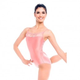 Thin suspender leotards