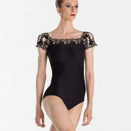 Emma short sleeve leotard