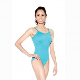 Women's thin straps leotard